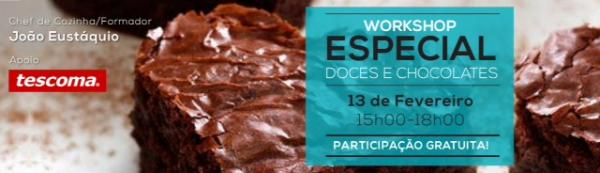 Workshop - Especial Doces e Chocolates